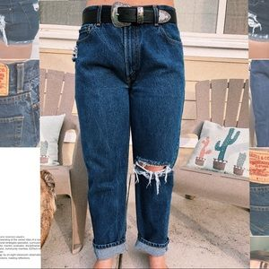 High waisted mom jeans Levi's